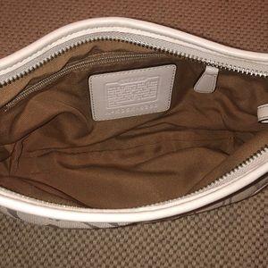 Coach Bags - Coach Ivory Soho Small Hobo Bag